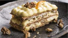 Tatlısız duramayanlara; Cevizli Milföy   For the who cannot give up dessert;  Mille-feuille with walnut  #californiacevizi #californiawalnut