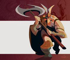 Viking Leader by ~EduardVisan