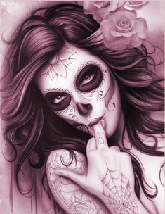 day of the dead pin up - Google Search