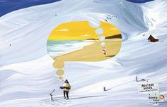 Terra Travel ad: Routine sucks, Snow (by DDB, Brazil)