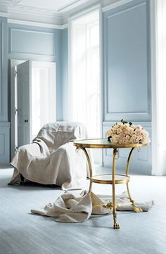 side table! Iconic Design: The Heiress Guéridon from Ralph Lauren Home.