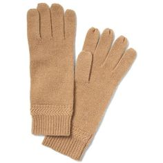 Banana Republic Todd & Duncan Chevron Rib Cashmere Glove ($43) ❤ liked on Polyvore featuring accessories, gloves, camel, cashmere gloves, banana republic and banana republic gloves