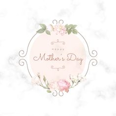 Trendy seamless floral pattern in vector illustration Free Vector Mother Day Wishes, Happy Mother S Day, Logos Vintage, Vintage Cards, Mothers Day Poster, Mothers Day Logo, Frame Floral, Happy Mothers Day Images, Happy Mother's Day Card