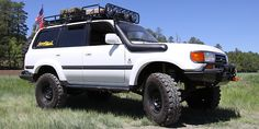 Shop Build Slee Off-Road Toyota 80 Series Land Cruiser: Trucks & : Colorado off-road shop Slee Off-Road builds a overland-style Toyota 80 Series Land Cruiser Land Cruiser Fj80, Toyota Land Cruiser, Motorcycle Camping, Camping Gear, Landcruiser 80 Series, Toyota Lc, Expedition Vehicle, Military Vehicles, Offroad