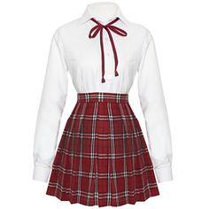 Partiss Maedchen British Style Schuluniformen Fancy Dress Sailer Outfits Cosplay Anzug Bluse mit Faltenrock,,Chinesisch L,7 Partiss http://www.amazon.de/dp/B01C29S8XC/ref=cm_sw_r_pi_dp_XUcZwb1Q9WRJQ