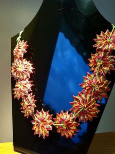 Gota work jewellery... Ethnic Jewelry, Diy Jewelry, Jewelery, Handmade Jewellery, Flower Jewelry, Gota Patti Jewellery, Thread Jewellery, Post Wedding, Bridal Flowers