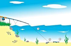 Lov candátů na feeder Sport Fishing, Lov, World, The World