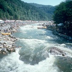 Ocoee River - We had our family reunion at Ocoee, TN in 2010.  Absolutely beautiful!!!