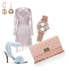 Pastel by paulina-dubnicka on Polyvore featuring polyvore, fashion, style, Zimmermann, Valentino, Rolex, Blue Nile and clothing