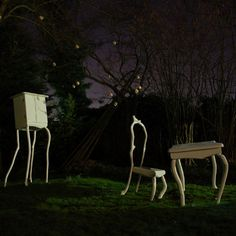 Milan 09: Dutch designer Bo Reudler presents Slow White, a collection of furniture and objects made from tree branches, in Milan next month.