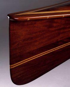 Woodsong canoe