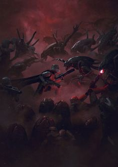 Guillem H Pongiluppi 501 St Legion Vader S Fist Vs Space Cockroaches 6 Guillemhp