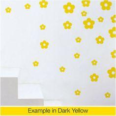 Vinyl Wall Sticker Art Decal : Flowers Type 1