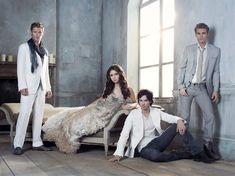 Vampire Diaries : Klaus, Salvatores & Elena