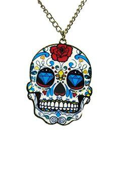 Gothic Rockabilly Day of the Dead Mexican Flower Sugar Sk... http://www.amazon.com/dp/B00B381OGM/ref=cm_sw_r_pi_dp_4Jcgxb1JKE3RP