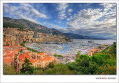 Condamine Bay (Monaco) - HDR by Eric Rousset.