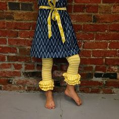 One Good Thread - Persnickety Clothing - Triple Ruffle Legging - Yellow Striped | Sail Away, $42.00 (http://www.onegoodthread.com/persnickety-clothing-triple-ruffle-legging-yellow-striped-sail-away/)
