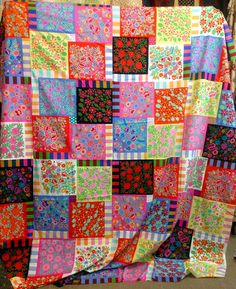 Amanda's Kaffe Quilt - ready to make this!