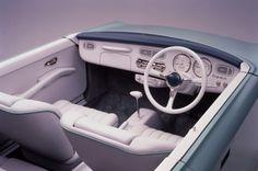 "carinteriors: "" 1989 Nissan Figaro concept """