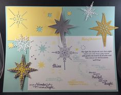 Star of Light - Index by galleryindex - Cards and Paper Crafts at Splitcoaststampers