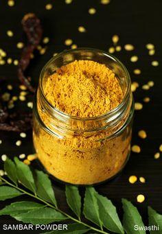 Sambar powder recipe