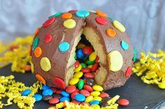Gâteau surprise ou piñata cake - alors là ce sera le prochaine gâteau d'anniversaire pour ma fille...