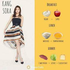 Kang Sora Diet