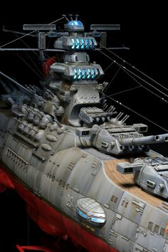 MASTERPIECE! The Ultimate Photoreview of Bandai 1/500 Space Battleship Yamato 2199. Improved, and now w/Full LEDs! Photoreview No.27 Big Size Images | GUNJAP