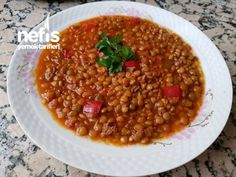 Kıymalı Mercimek Yemeği Chana Masala, Chili, Beans, Pasta, Vegetables, Cooking, Ethnic Recipes, Food, Kitchens
