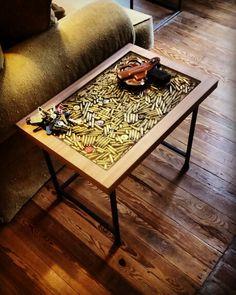 Table With Bullets Under Resin Brandon Pinterest