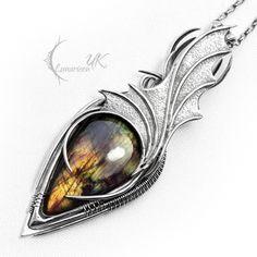 ZYNTHRILL - silver and labradorite. by LUNARIEEN.deviantart.com on @deviantART