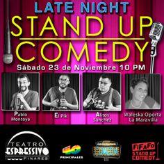Late Night Stand Up Comedy http://desktopcostarica.com/eventos/2013/late-night-stand-comedy