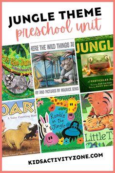Jungle Theme Preschool Unit