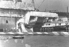 German U-boat bunker