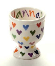 Hannah Berridge - ceramics - Love Hearts Egg Cup