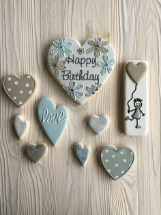 Birthday cookies by Dyan