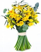 Golden Daffodils - Seasonal British Flowers Bouquet