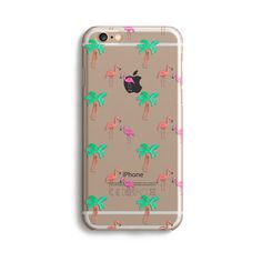 Clear Tropical - Phone Case