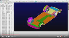 In this video we demonstrate using the Assemble Tolerance metric found under the Examine menu in Pointwise to help identify potential issues with existing quilts and models. It is also useful to help determine the appropriate grid spacing to use near these assembly boundaries in models.