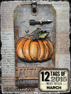 ❤ =^..^= ❤  12 tags of 2015 – november… | Tim Holtz