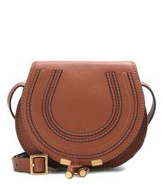 Chloé - Marcie Small leather shoulder bag | mytheresa.com