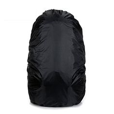 Jepeak 35L Nylon Waterproof Backpack Rain Cover Rucksack Water Resist Cover for Hiking Camping Traveling Outdoor Activities Black ** Read more  at the image link.