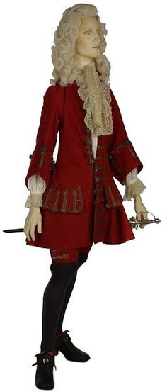 Formal coat and breeches (England, 1700-1705)