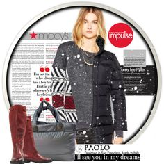 """""""Too-Cool Winter Style: Contest Entry and Paolo Shoes"""" by spenderellastyle on Polyvore"""