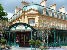 Epcot's France Pavilion Le Chefs de France, a great place to eat in the park.