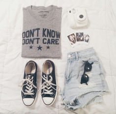 t-shirt tumblt t-shirt tumblr outfit grey t-shirt don't know don't care grey and black sweat shirt material blouse