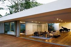 Wide open... Santa Amaro House by Isay Weinfeld 3