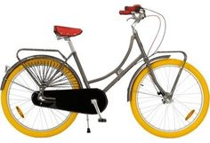 abuela 3-speed womens bike $499 though perhaps those yellow tires are a bit to much