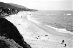 West Street Beach (south of Aliso Beach) in the 1920's