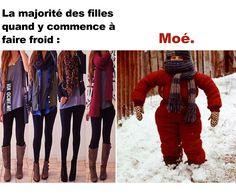 Les filles l'hiver